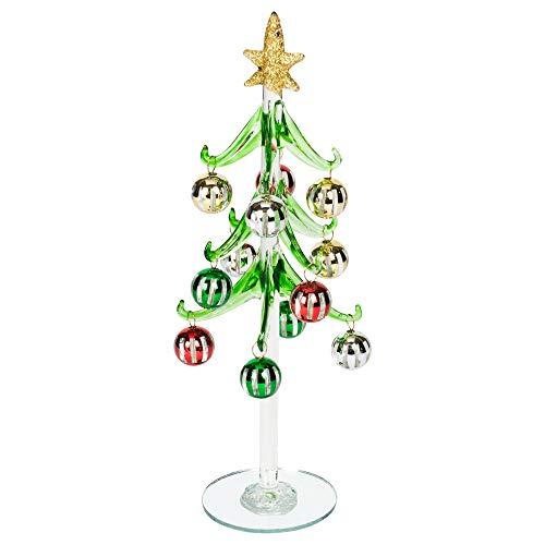 One Hundred Weihnachtsbaumkugel, 80 Grad, Mehrfarbig, Glas, 25,4 cm