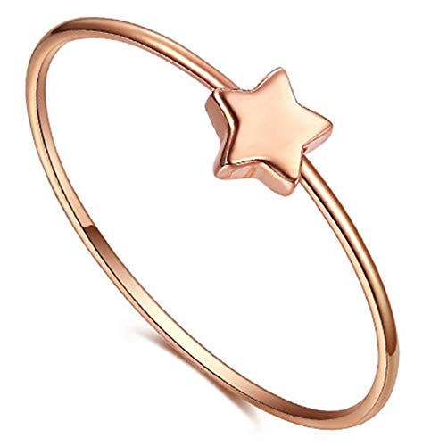 Ubestlove Valentines Gifts For Her Jewellery 18K Rose Gold Sister Gifts Ideas Personalised Women Ring P 1/2