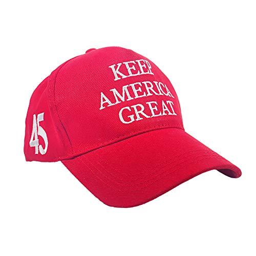 Donald Trump Baseball Cap, 2020 President Election Trump Keep America Great Cotton Baseball Cap