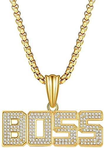 NC110 Brands Necklace Pendants Unisex crystal rhinestone pendant necklace luxy chain women men necklace gifts