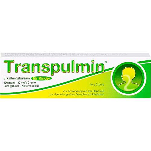 Transpulmin Erkältungsbalsam für Kinder, 40 g Creme
