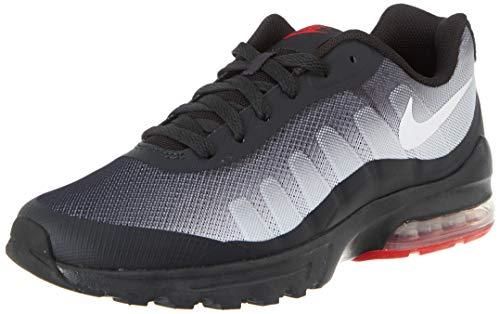 Nike Herren Air Max Invigor Running Shoe, Mehrfarbig (Off Noir/White-Sky Grey-University Red), 46 EU