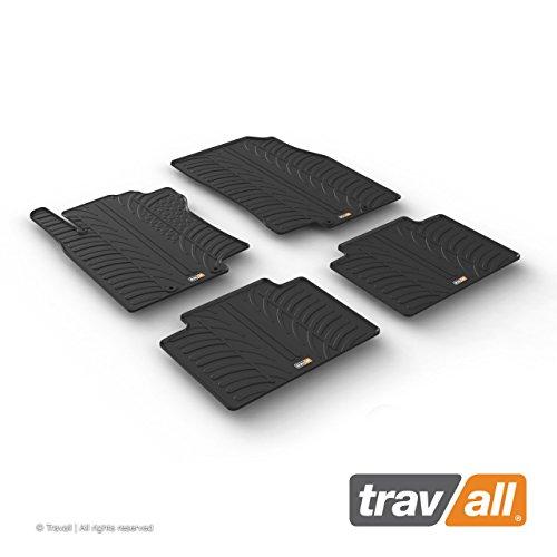 Travall Mats Gummifußmatten Kompatibel Mit Nissan X-Trail T32 (Ab 2013) TRM1292 - Allwettermatten Nach Maß Fussmatten Set