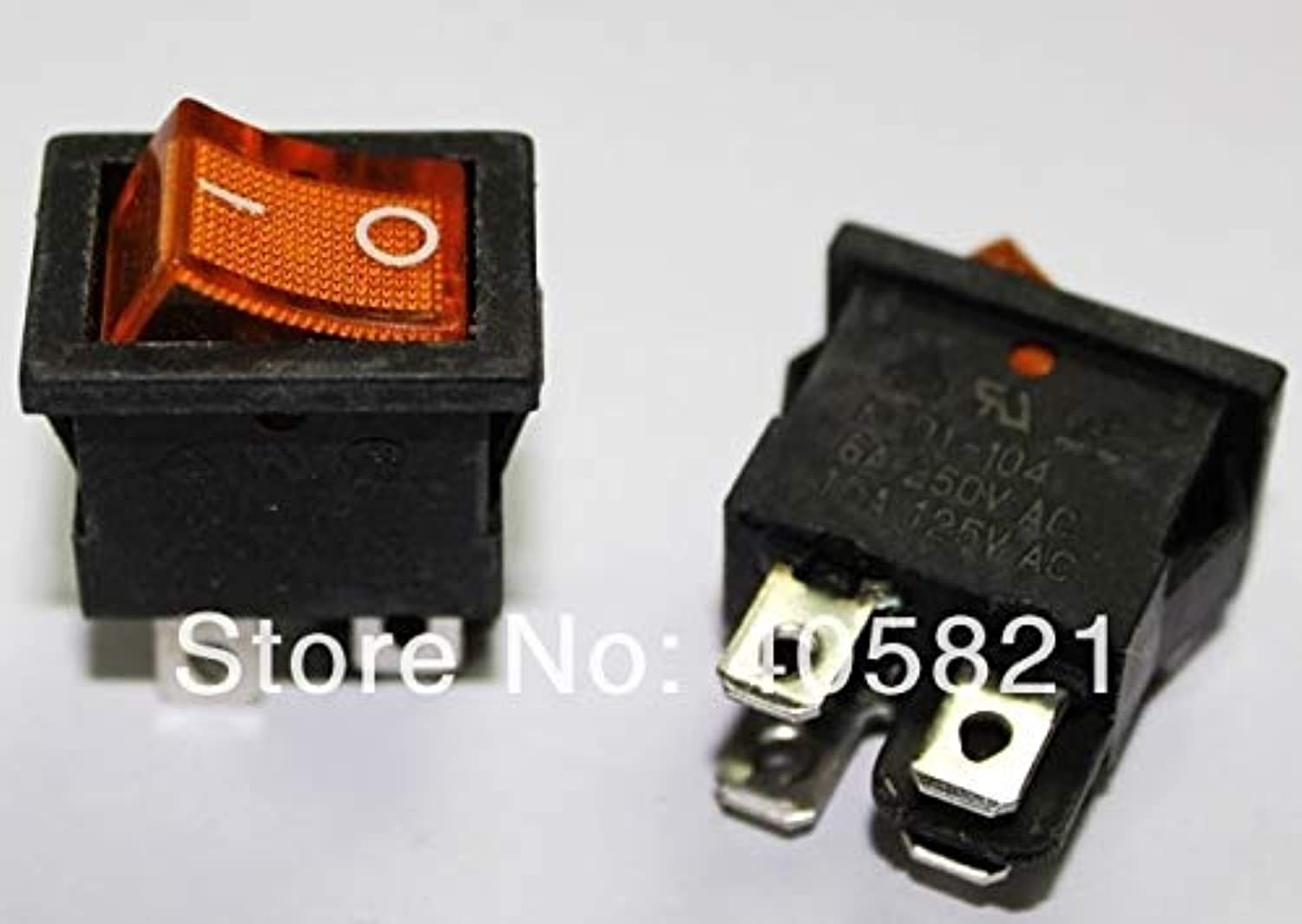 4pins Yellow Illuminated Boat Switch 13  19mm, Power Switch,Monitoring Switch,signaling Switch