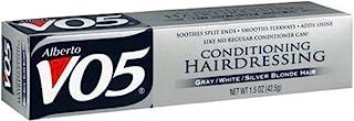 Alberto VO5 Hairdressing Conditioning برای موهای خاکستری خاکستری / سفید / نقره ای، لوله های 1.5 اونس (بسته 6)