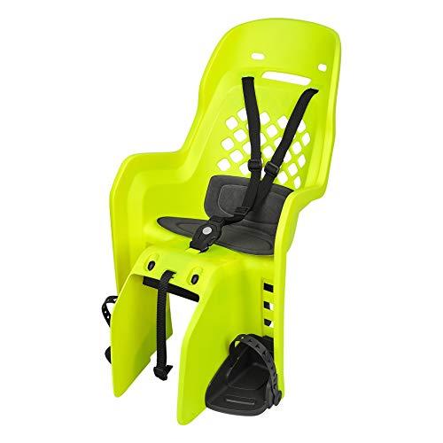 P4B | Seggiolino per bicicletta – Montaggio portapacchi posteriore | Fino a max. 22 kg | Per bambini per 9 mesi – 5 anni | Per biciclette da 26 – 29 pollici