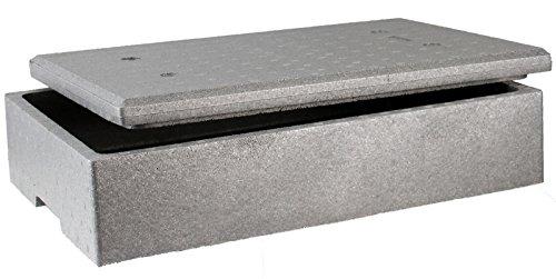 Sebutec Neopor Styroporbox mit Deckel 60x40x15cm