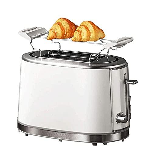 Adesign Tostadora Breakfast Toast Hogar Pequeña Máquina de Pan de tostadora automática con Parrilla, Horno de tostadora Máquina de Desayuno Máquina de Acero Inoxidable
