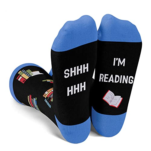 Shhhh…. I'm Reading Socks