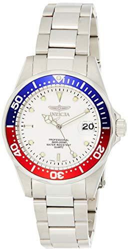 Invicta 8933 Pro Diver Reloj Unisex acero inoxidable Cuarzo Esfera plata