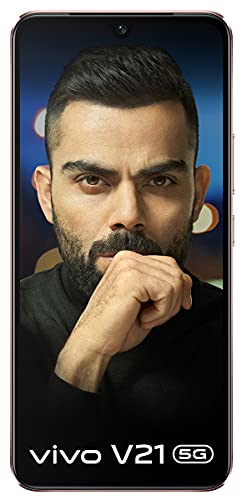 Vivo V21 5G (Arctic White, 8GB RAM, 128GB Storage) with No Cost EMI/Additional Exchange Offers