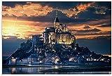 Lienzo De Impresión 60x90cm Sin Marco Cartel decorativo de Francemont Saint Michel