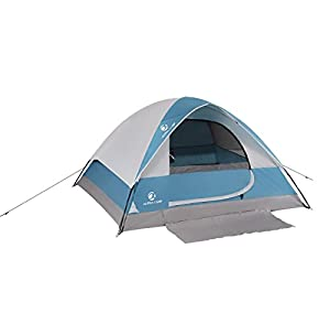 ALPHA CAMP 2-Person Camping Dome Tent