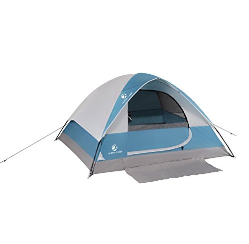 ALPHA CAMP 2-Person Camping Dome Tent with Carry Bag, Lightweight Waterproof Portable...