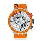 Reloj Swatch Big Bold Chrono Next SB04Z401 Launch Edición Especial NASA