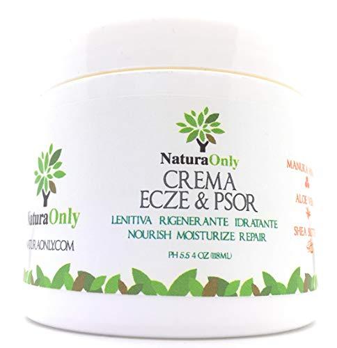 Natura Only - Crème au miel de Manuka, Aloe Vera, beurre de karité, huile de noix de coco. Hydratant naturel pour le visage et le corps pour les peaux sèches.