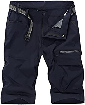 Vcansion Men's Outdoor Lightweight Quick Dry Hiking Shorts