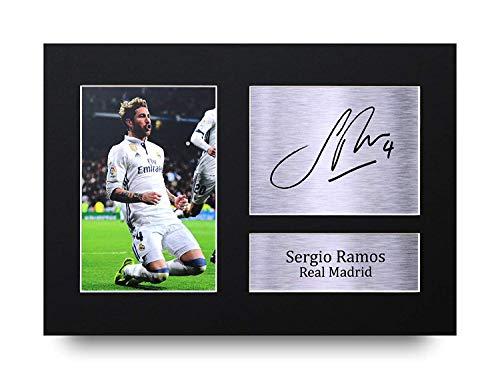 HWC Trading Sergio Ramos A4 Sin Marco Regalo De Visualizaci