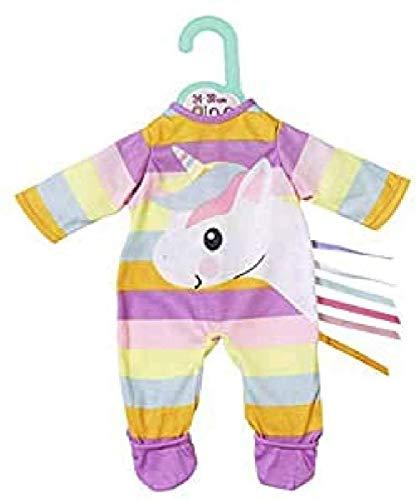 Zapf Creation 870570 Dolly Moda Einhorn Strampler Puppenkleidung 34-38 cm