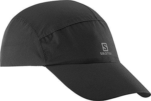 Salomon Gorra, impermeable cap, negro, unisex, talla única