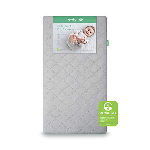 Great Deal! Newton Baby Crib Mattress and Toddler Bed | Waterproof | 100% Breathable Proven to Reduce Suffocation Risk, 100% Washable, Hypoallergenic, Non-Toxic, Better Than Organic – 2-Stage Cover Included