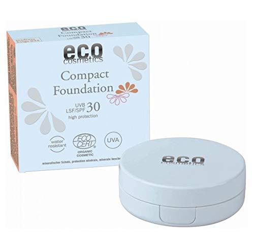 Eco Cosmetics – Compact Foundation Protecteur SPF 30–030 Beige 10 g