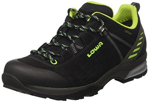 bester Test von lowa arco gtx Lowa Arco GTX Lo Trekking- und Wanderschuhe, Herren, Schwarz (Schwarz / Limette 9903), 45 EU