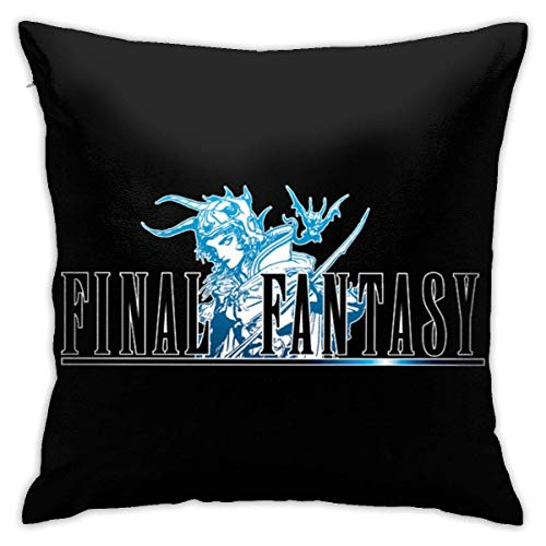 HJEMD Final1 Logo Pillow Case Covers Decorative Home Sofa Bed Standard Square Throw Pillowcase Protectors Zipper 18x18 Inches
