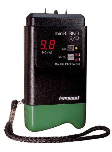 Lignomat Moisture Meter Mini-Ligno S/D Black