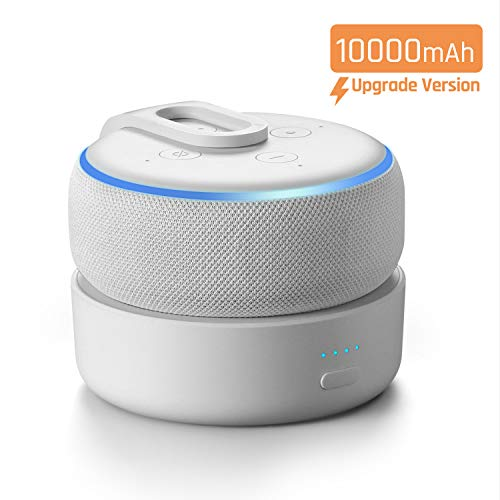 [2020 Version] GGMM D3+ Battery Base for Dot3 to Make Dot3 Portable, (Not Include Dot3 or Charge Cord) (White)