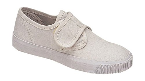 Mirak Enfants Csg/99248 Fermeture Velcro Textile Chaussures Décontracté Blanc 22