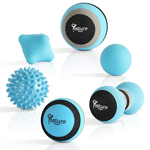 Check Out This Posture Magic Massage Ball Set for Myofascial Trigger Point Release & Deep Tissue Mas...