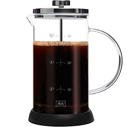 Melitta 170401 Kaffeebereiter Classic, 6 Tassen Kaffee Zubereiter, 1 L