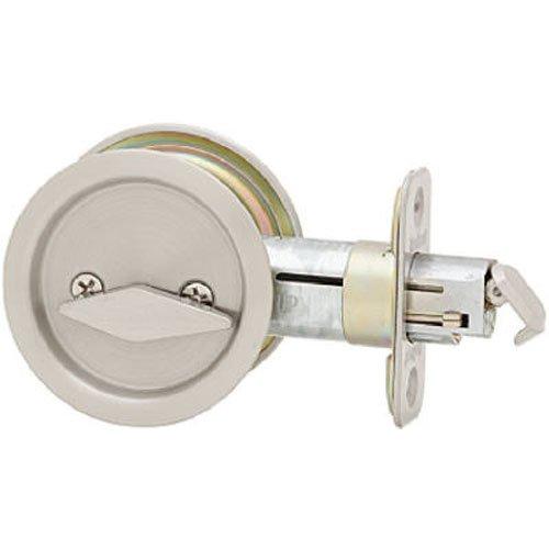 Kwikset 335 Round Privacy Bed/Bath Pocket Door Lock