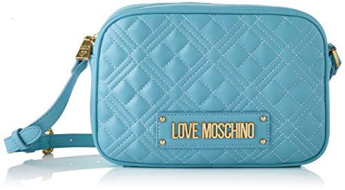 Love Moschino SS21, Bandolera para Mujer, azul claro, Normal