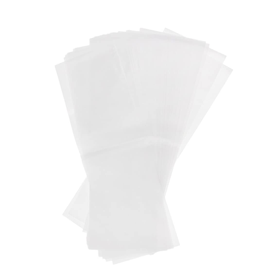 講義ファッション文明化するKesoto 約50枚 プラスチック製 染毛紙 ハイライト サロン 毛染め紙 ハイライトシート 再利用可能 2仕様選べ - ホワイト
