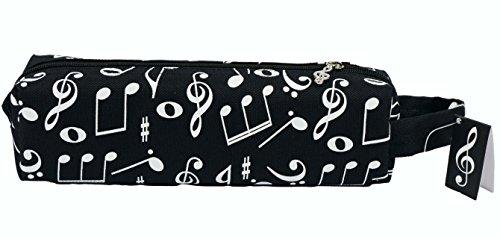 Stiftmäppchen Musikmotive - Schönes Geschenk für Musiker