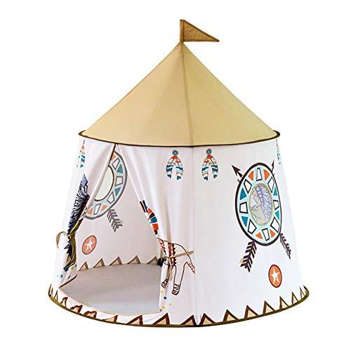 Tbest Kids Play Tent, Princess Castle Play House Large Carpa Interior para niños para Regalo de bebé