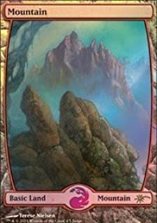 Magic: the Gathering - Mountain - Full Art Foil - Judge Promos - Foil