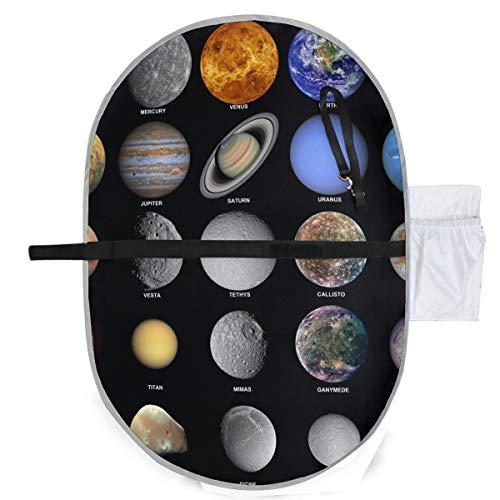 Toutes les planètes qui composent le système solaire W Matelas à langer Tapis de voyage à langer Matelas à langer 27x10 pouces Matelas pliable imperméable pour bébé Poste à langer portable Accueil Ma
