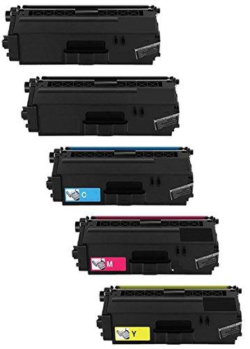 Prestige Cartridge TN-326 5-er Set Toner kompatibel für Brother HL-L8250CDW, HL-L8250CDN, HL-L8350CDW, HL-L8350CDWT, DCP-L8400CDN, DCP-L8450CDW, MFC-L8600CDW, MFC-L8650CDW, MFC-L8850CDW