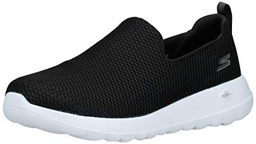 Skechers Men's Go Max-Athletic Air Mesh Slip on Walking Shoe Sneaker, Black/White, Numeric_13 X-Wide