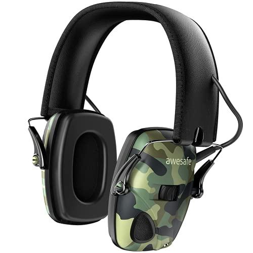 AWESAFE GF01 Casco Tiro Auriculares de Caza Protector Auditivo del Oído con...