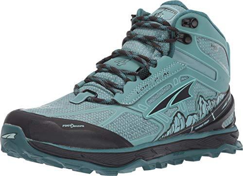 ALTRA Women's ALW1855N Lone Peak 4 Mid RSM Trail Running Shoe, Mineral Blue - 8.5 M US