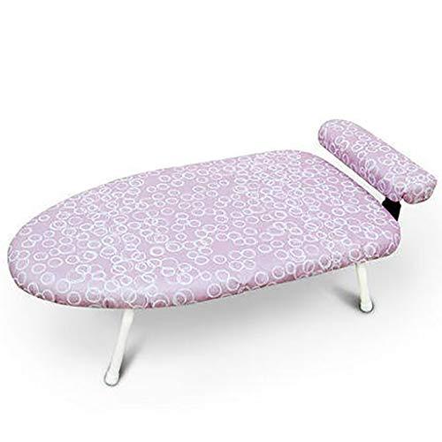 TT&CC Accueil Table Repasser Haut, 4 Extra Stable Jambe Pliage Compact  Professionnel résistant à la Chaleur 100% Coton Couvrir Ironing Board-D ...