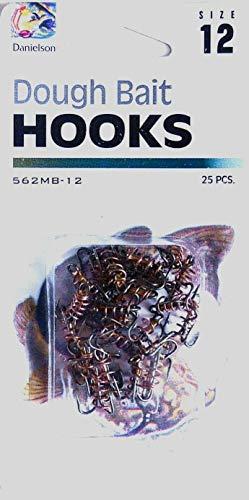 50 562MB-12 Dough Bait Treble Fish Fishing Hooks Size 12