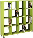 Kit Closet Estantería 'Kubox' 16 huecos verde