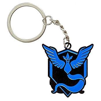 Pokemon Go Team Valor Mystic Instinct Enamel Key Chains for Gift  Mystic