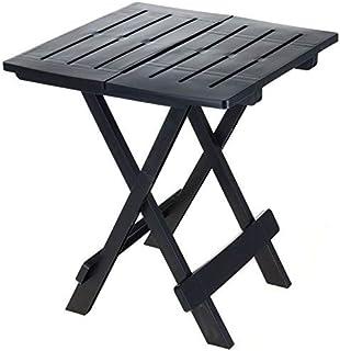 ADIGE - Mesa plegable pequeña para jard&