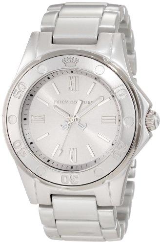 Juicy Couture 1900887 - Reloj de Pulsera Mujer, Color Plata